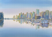 Colours of Coal Harbour - SOLD